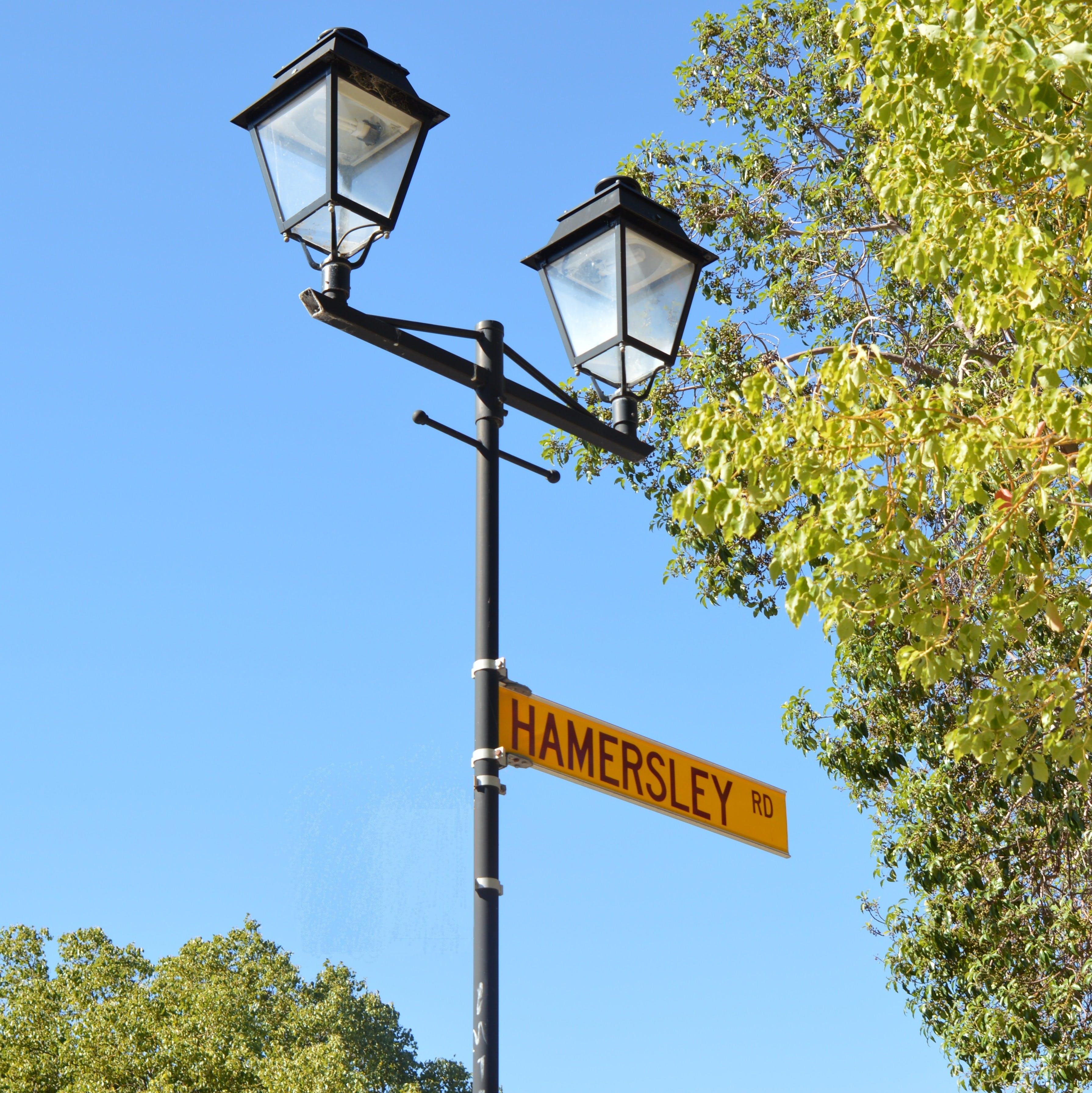 Hamersleyrdstreetlight square