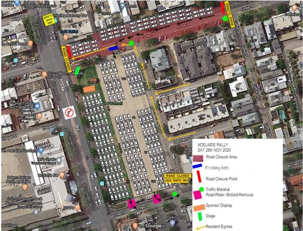 Map of Adelaide Rally finale.JPG