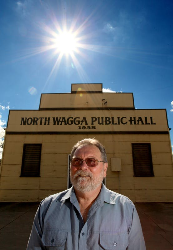 Laurie Blowes - President, North Wagga Residents Association