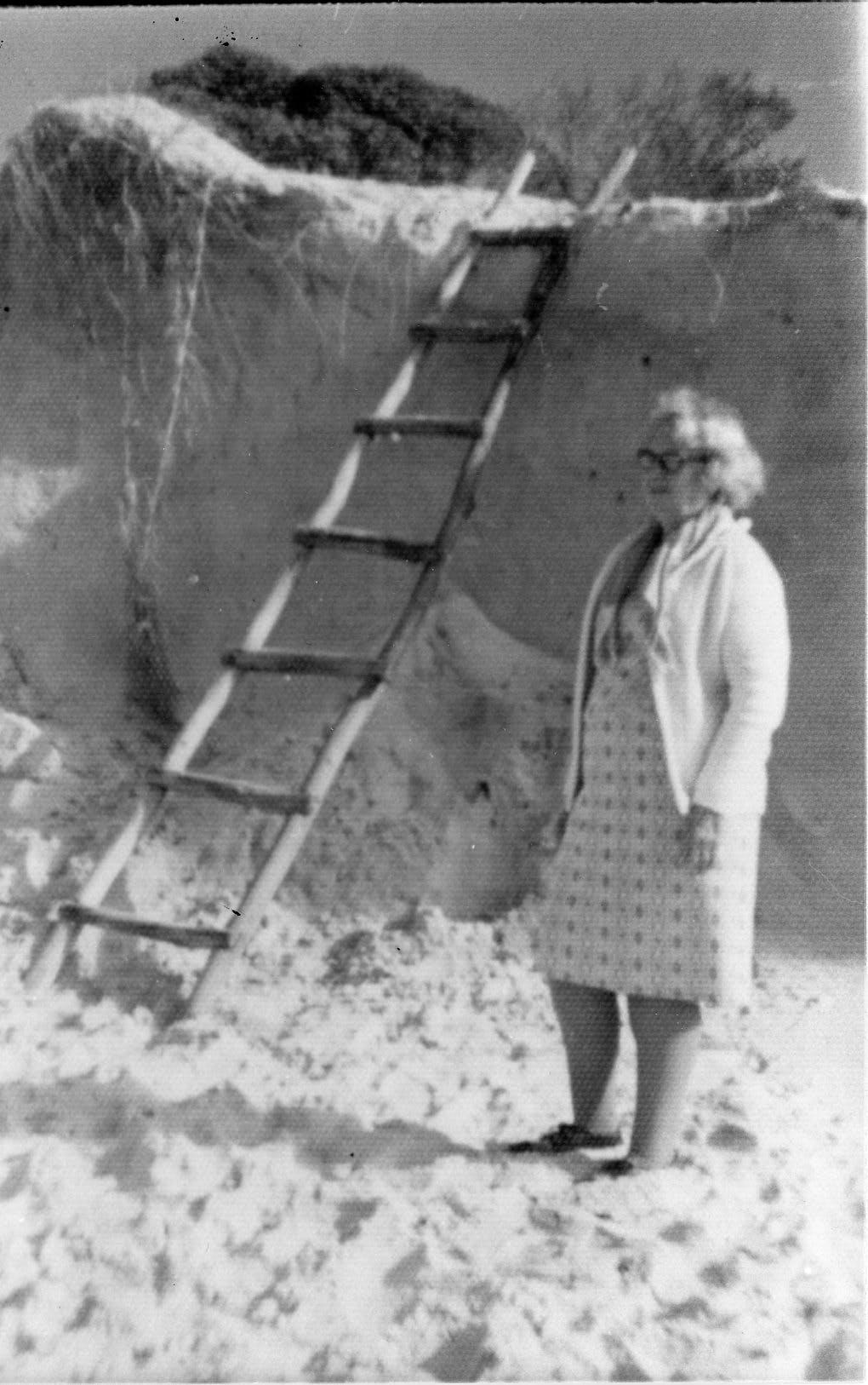 Erosion After Large Storm 1975