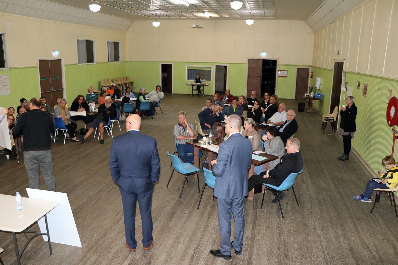 Gladstone / Smithtown Community Catch-up