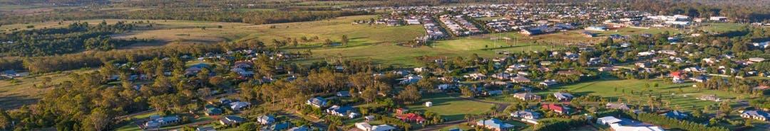 Highfields aerial