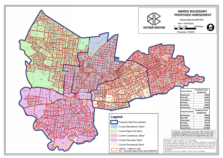 Ward Boundary Proposed Amendment Map Web