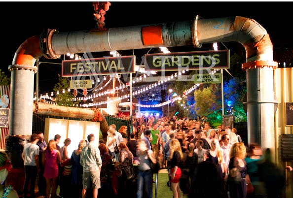 Perth festival entry