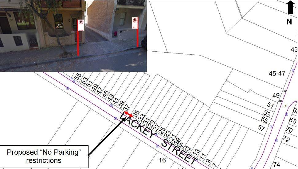 Lackey St lane, St Peters