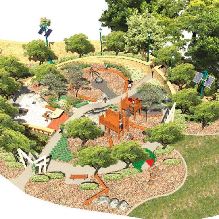 Nature Play Solutions playspace design