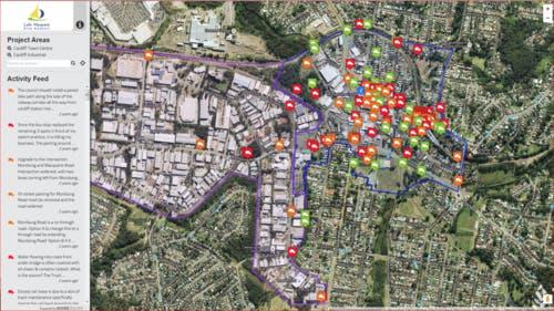 Online Interactive Map