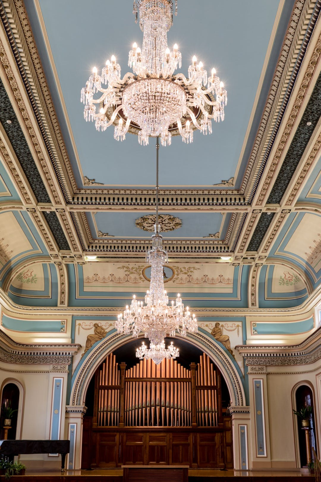 Town Hall Ballroom Chandeliers