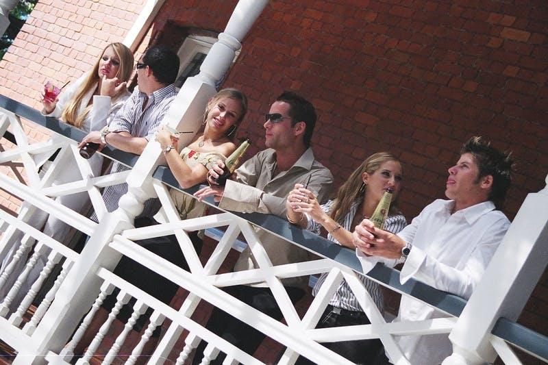 Draft Concept Image Only - Balcony bars & restaurants.