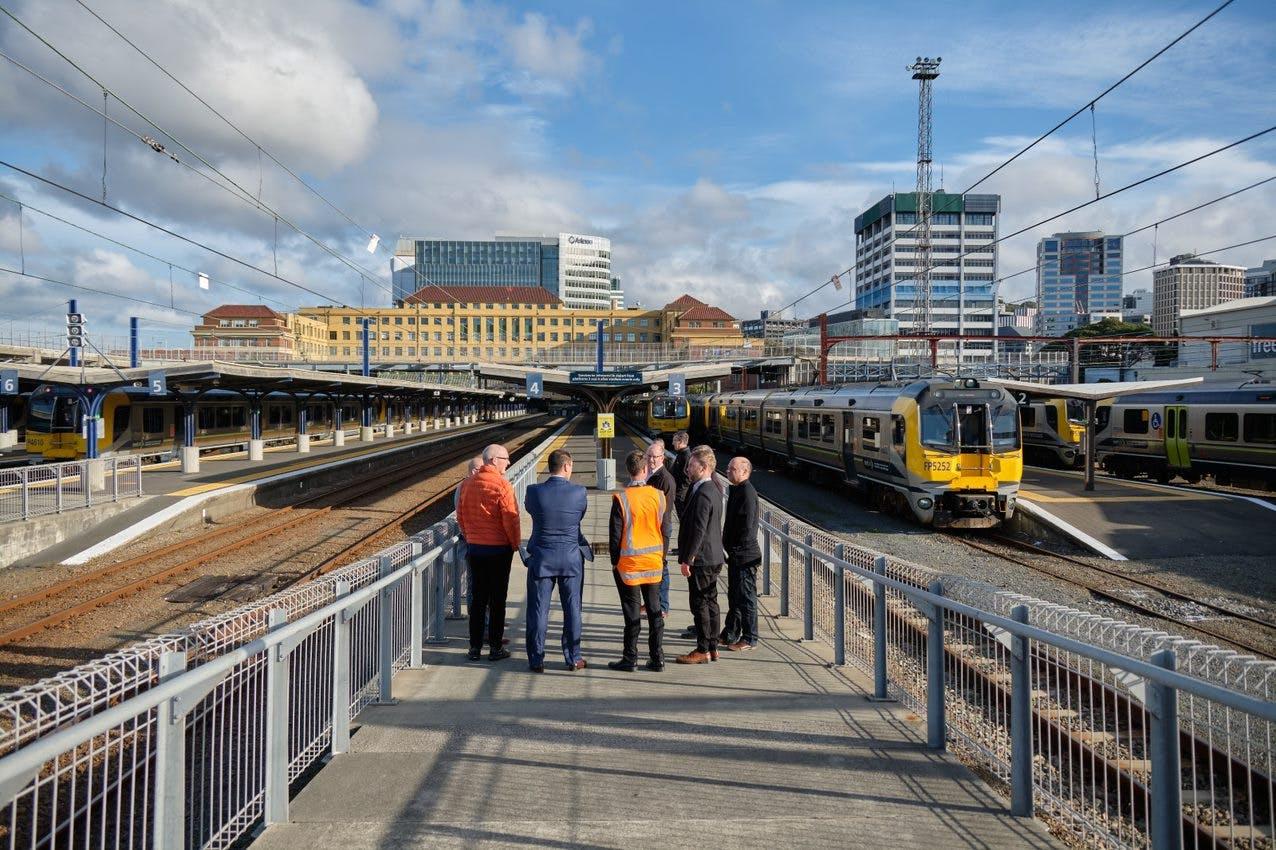 Metlink rail network
