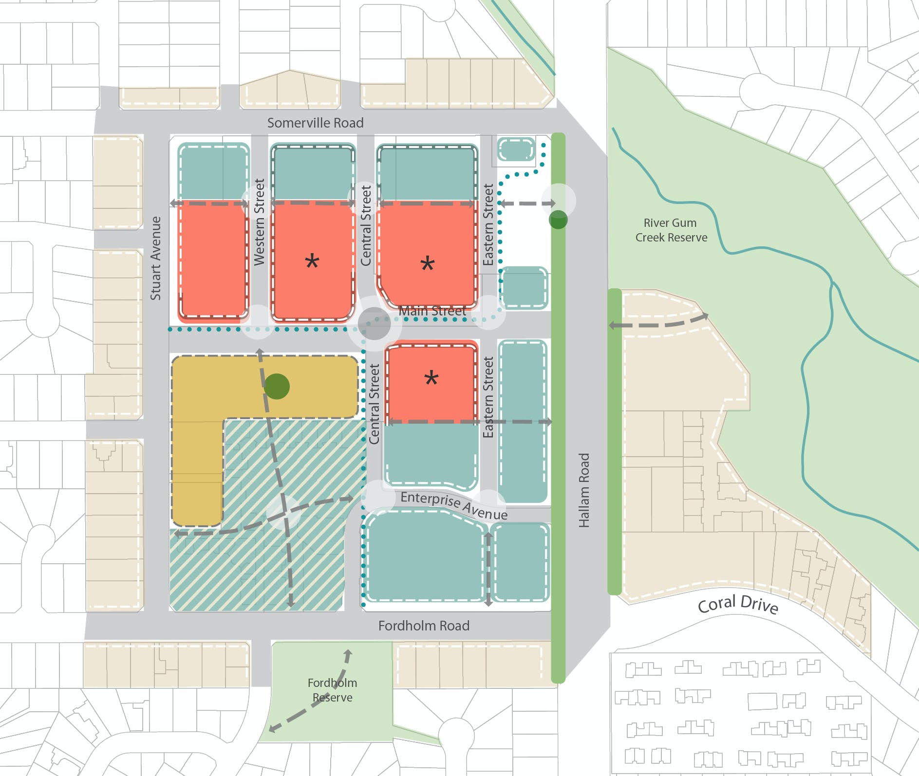 Hampton Park Development Plan Central Framework