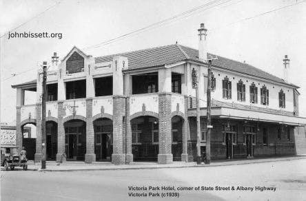 Victoria Park Hotel C1939