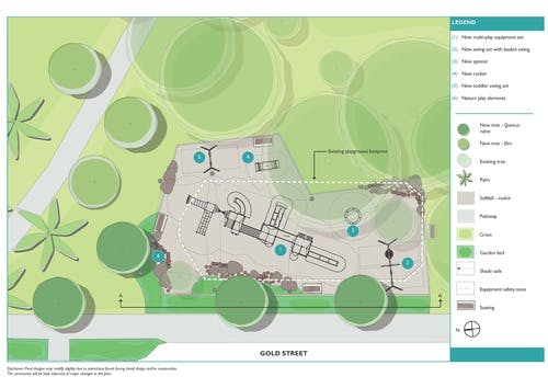 Darling Gardens Playground Final Concept Plan