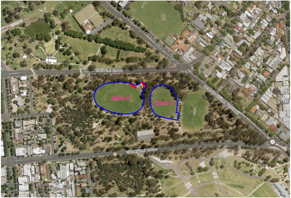 Park 15 Eoi Zone Map
