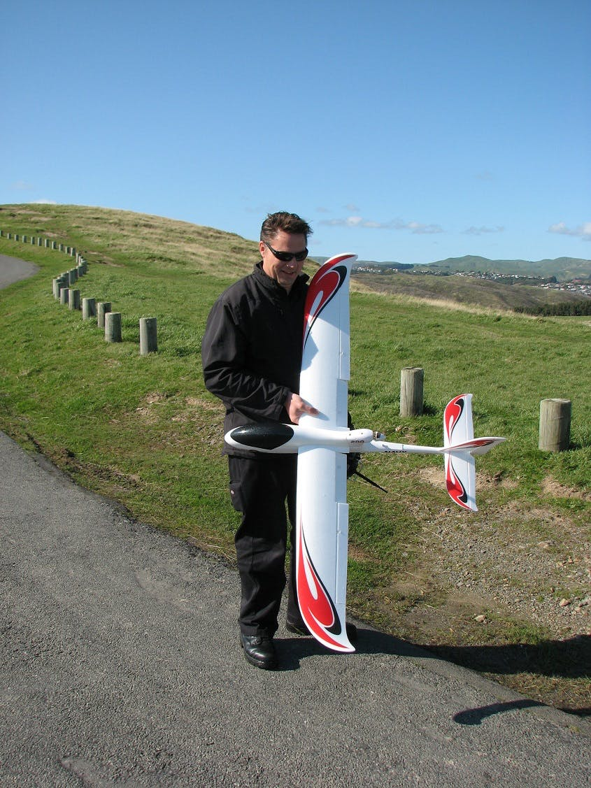 Model airplanes @ Whitireia