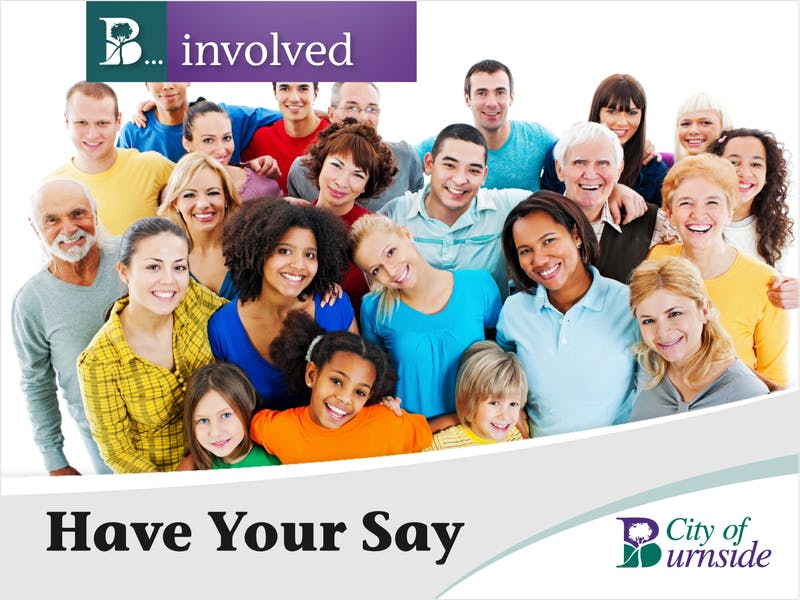 Be Involved - Have Your Say