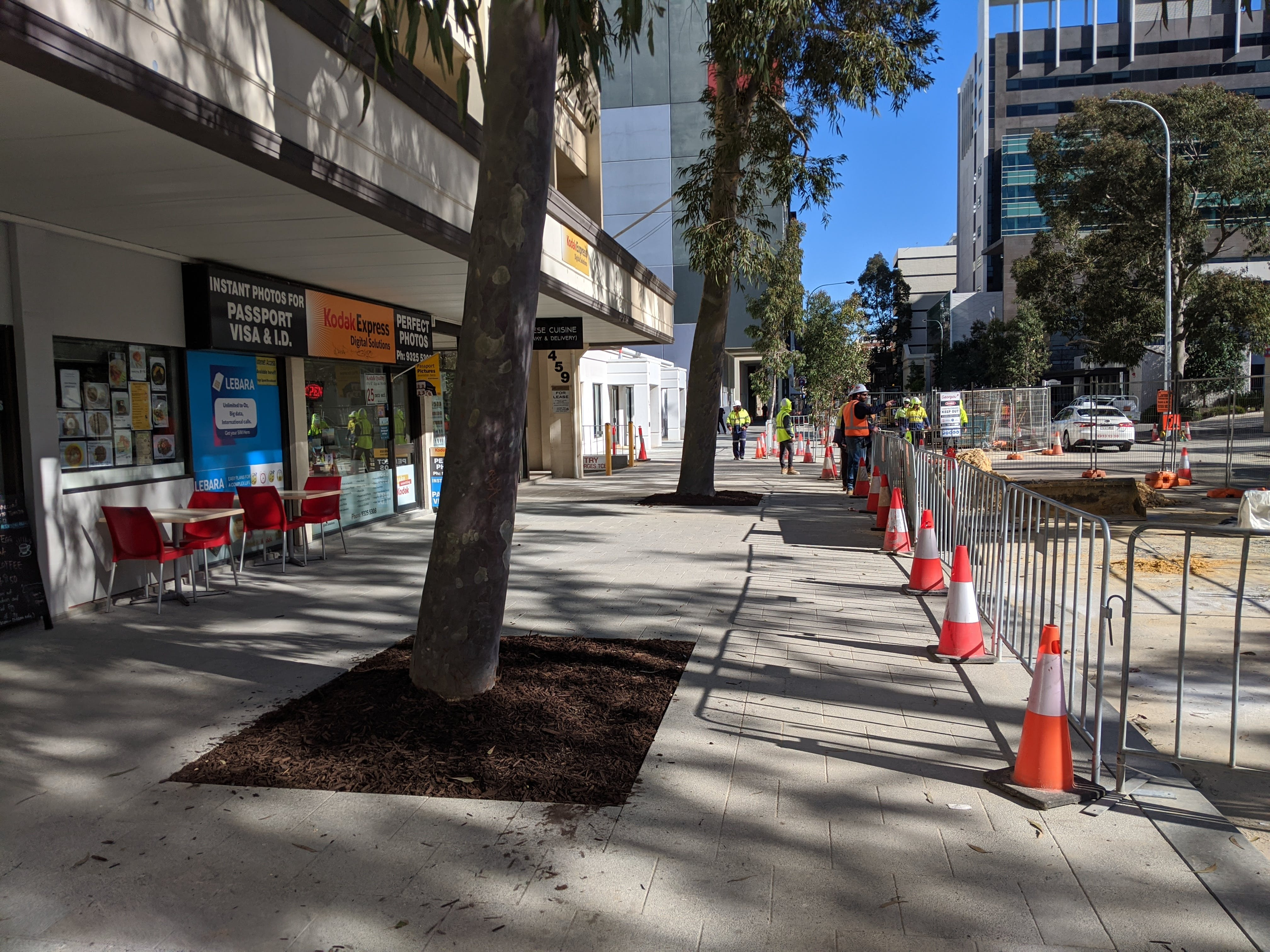 Hay Street stage 1 is slowly opening up to the public.jpg