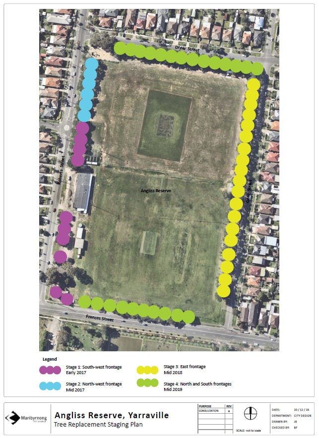 Angliss Reserve Project Plan