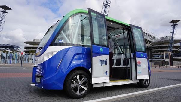 Driverless smart shuttle