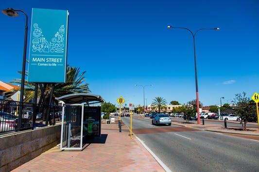 Main street image