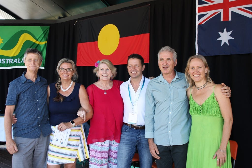 Australia Day Committee with Ambassador David Bitton centre 2018