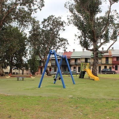 Existing children's playground