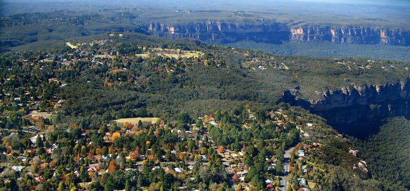 Katoomba and Leura in Autumn