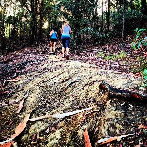 Running Shot Trail