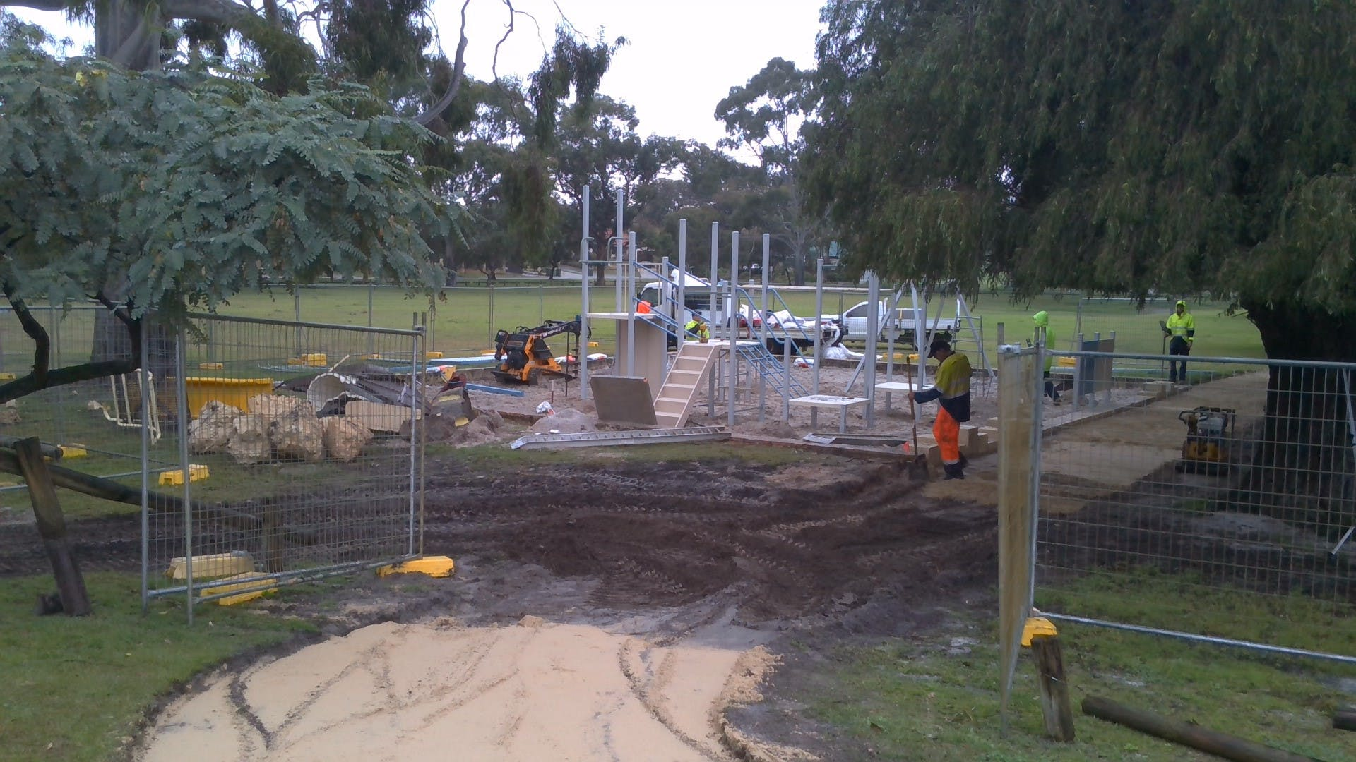 Andrews Park Progress 3