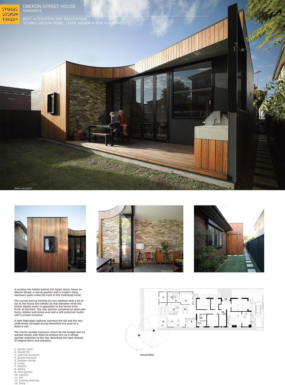 Oberon Street House Randwick