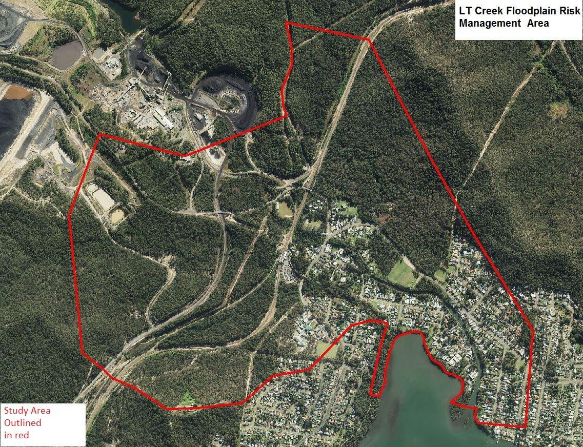 Lt Creek Flood Study Area