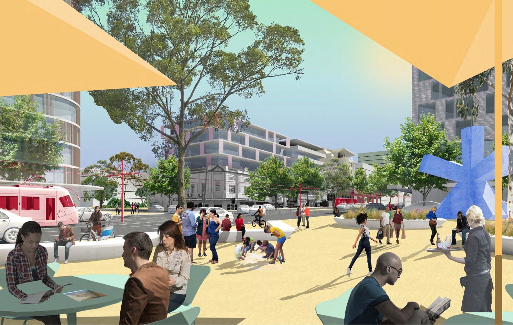JMD entry - Todman Avenue Square on Anzac Pde