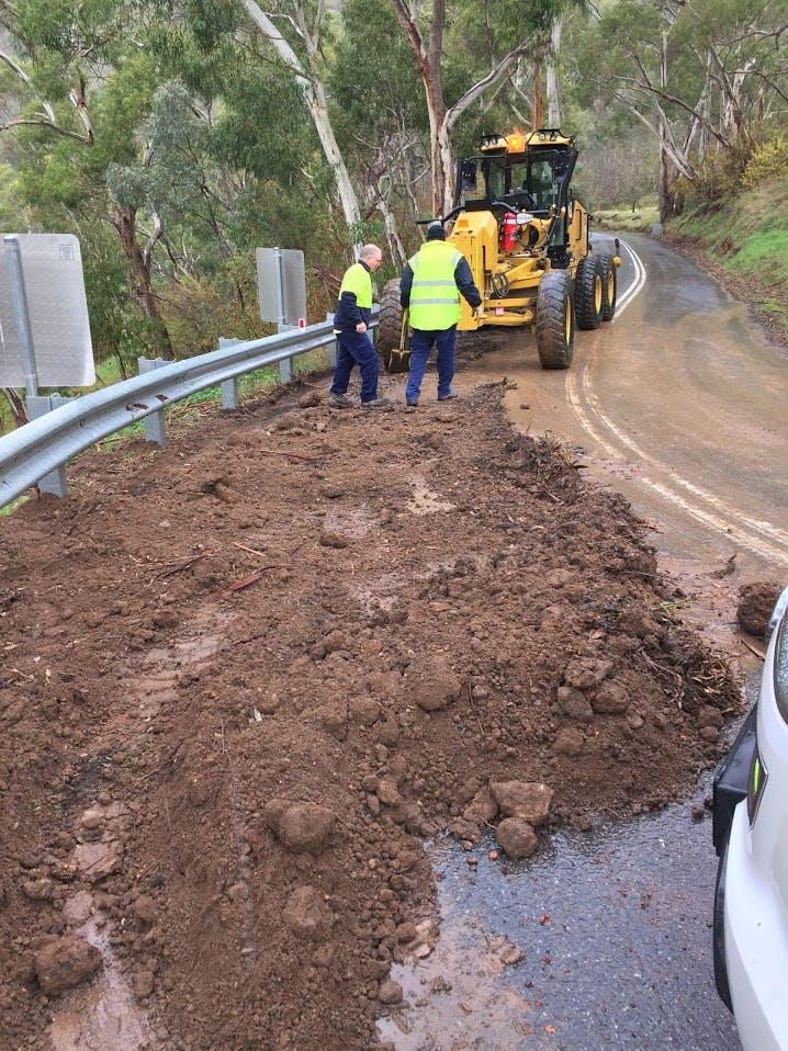 Illegal dumping of dirt on Corkscrew Road 2016 (1)