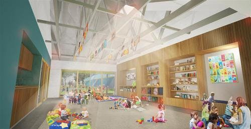 Waranara Early Education Centre interior
