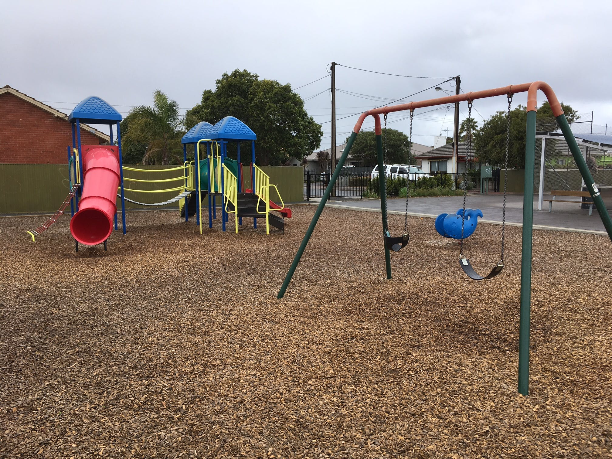 Existing Bowker Oval Playground