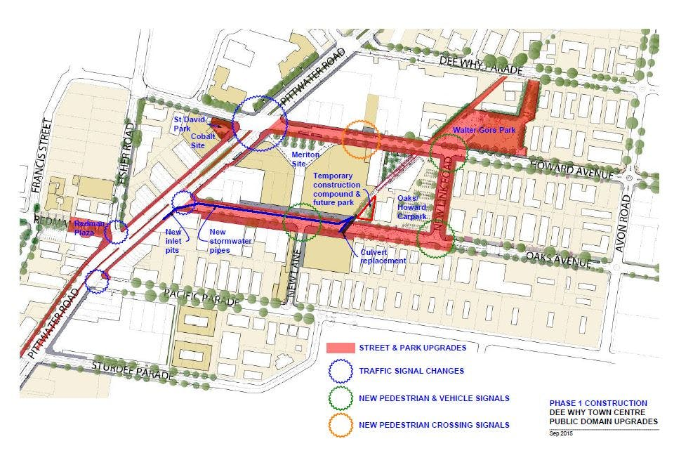 Map - DYTC Phase 1 Construction Plan – Sep 2015