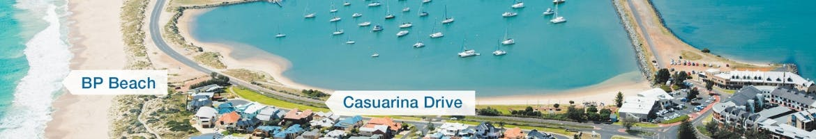 Transforming Bunbury's Waterfront Stage 2 - Casuarina Drive and BP Beach