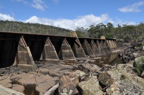 Lower Prosser Dam - looking west