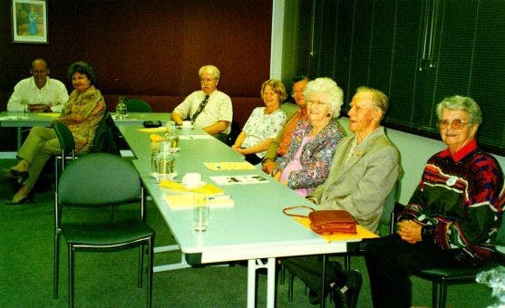 Some of the members of the Heritage Working Group at the Assessment Workshop
