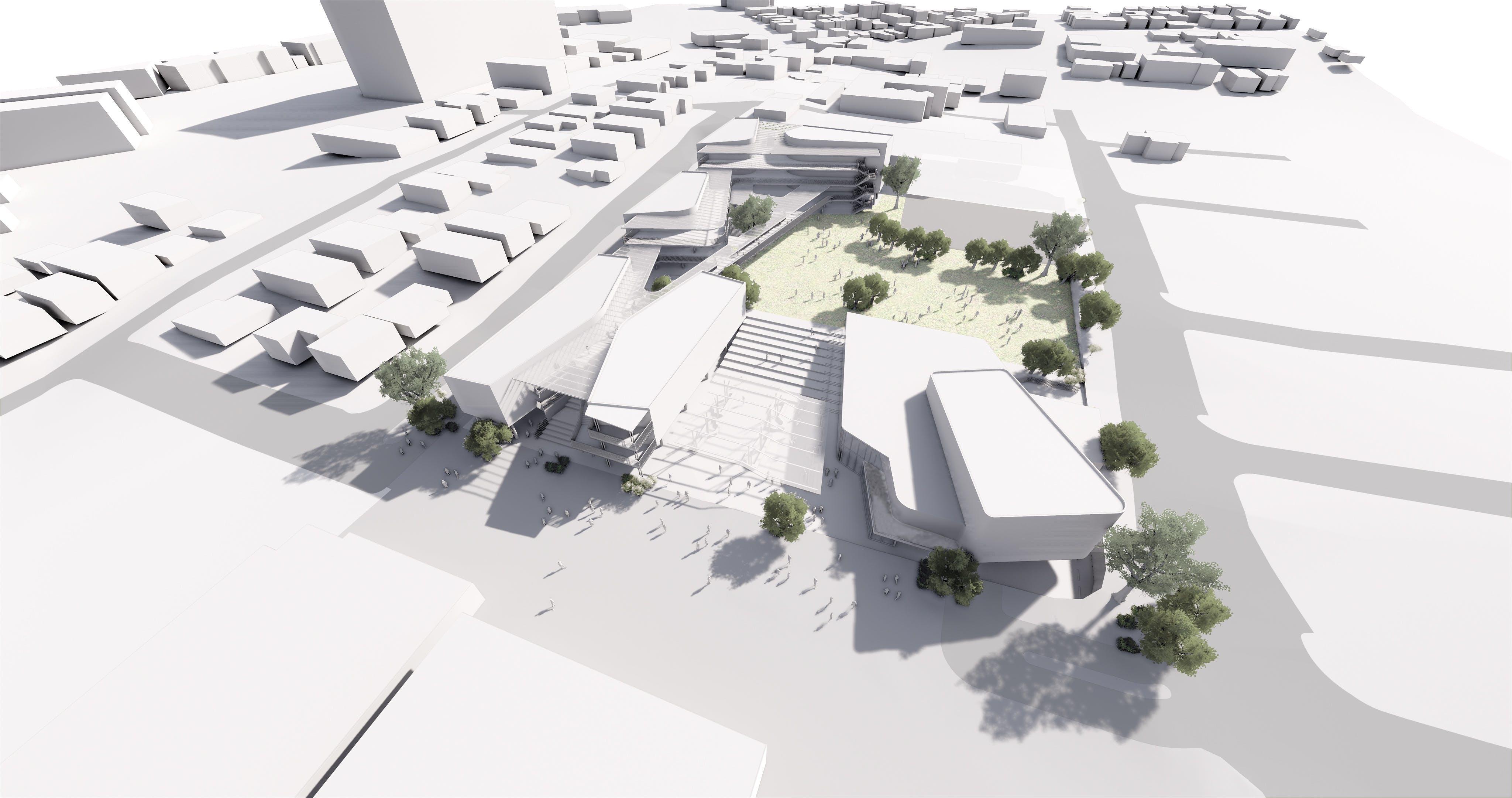 WESS expansion 3D masterplan