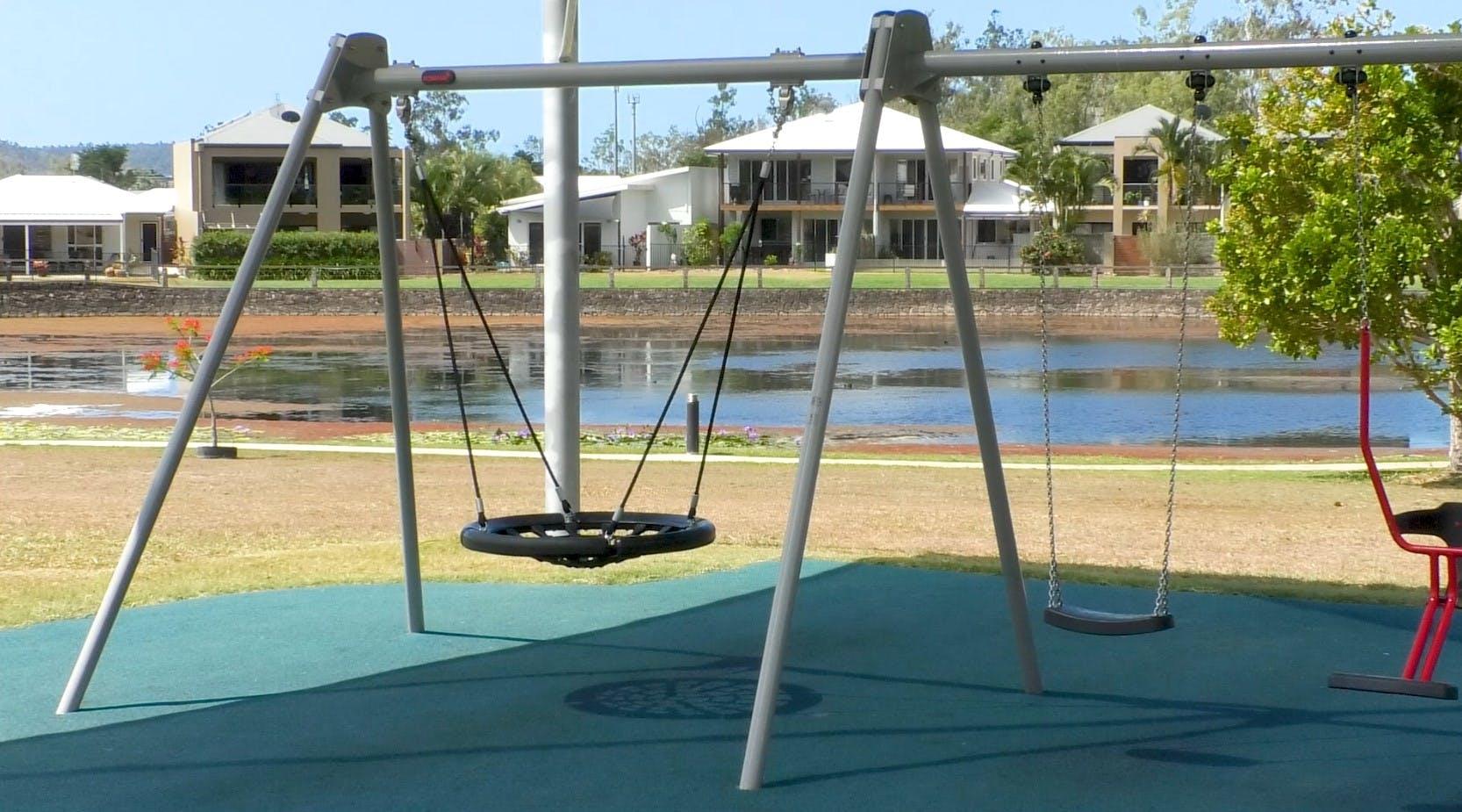 Cannonvale Lakes swings.jpg