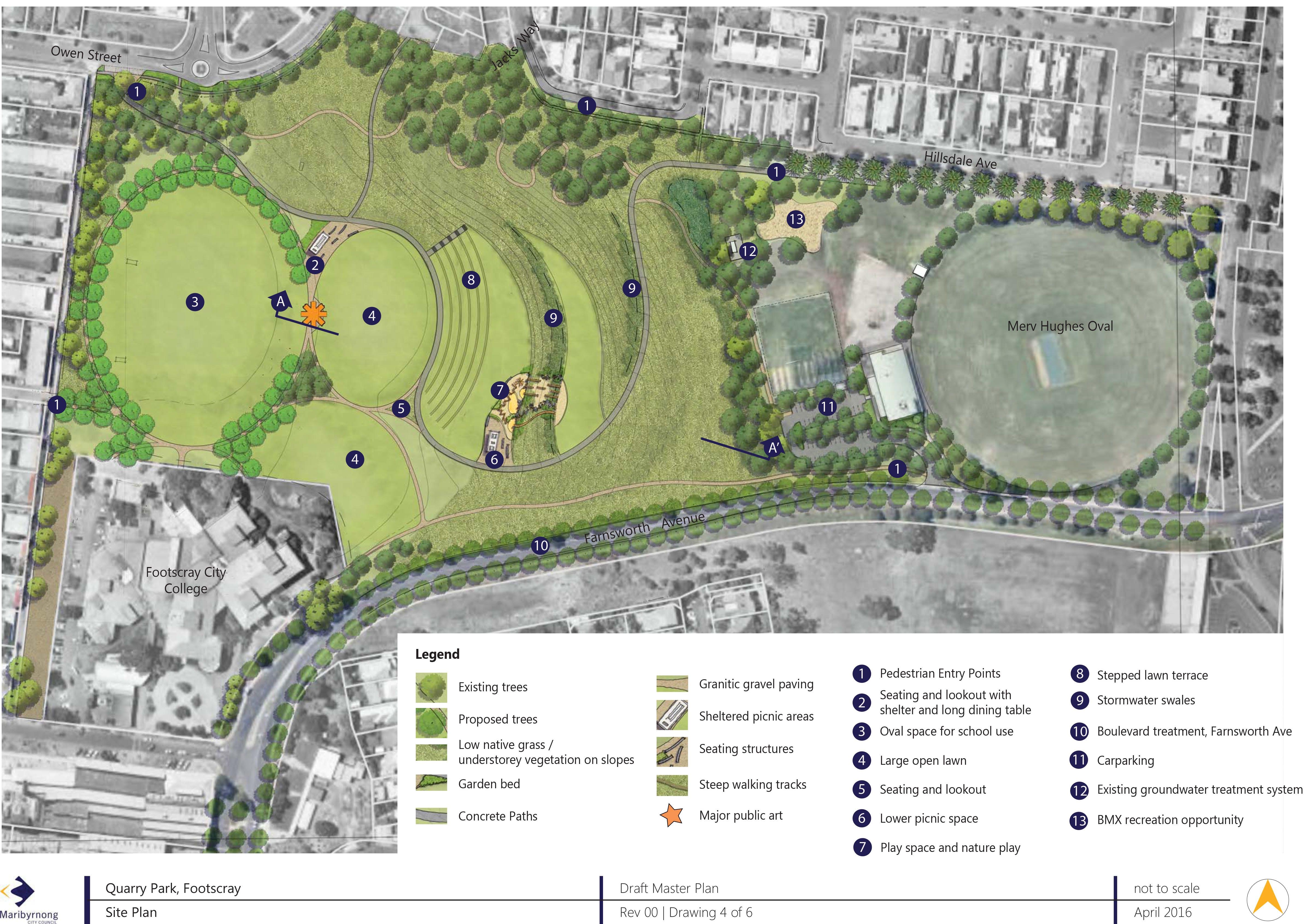 20160225   Quarry Park   Draft Master Plan  Main Plan