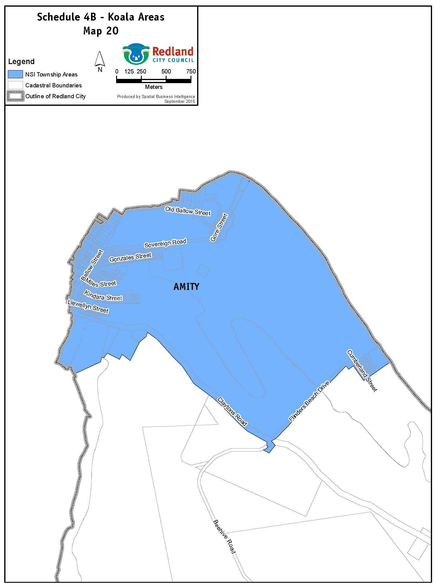 Koala Areas - Map NSI 2O