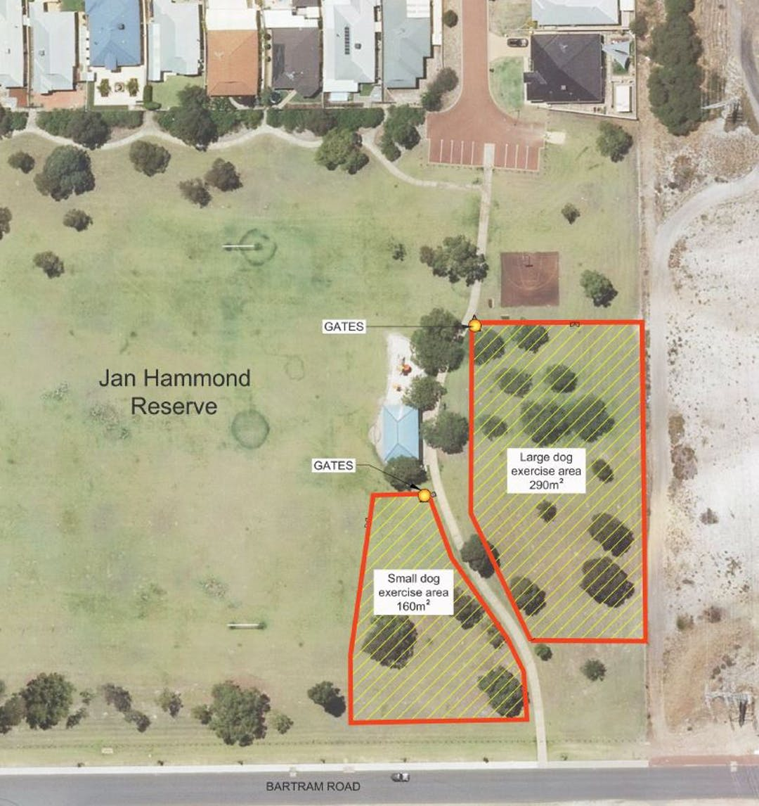 Proposed off leash enclosed dog park