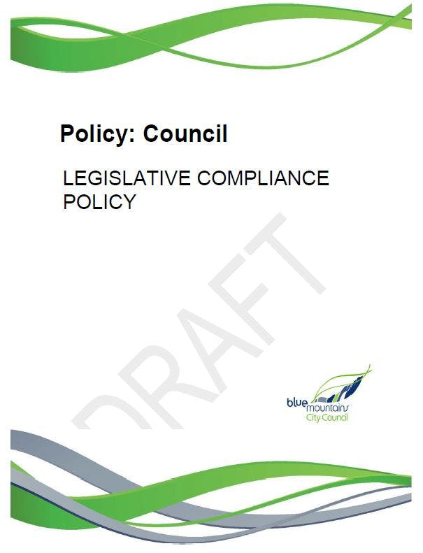 DRAFT Legislative Compliance Policy 2020