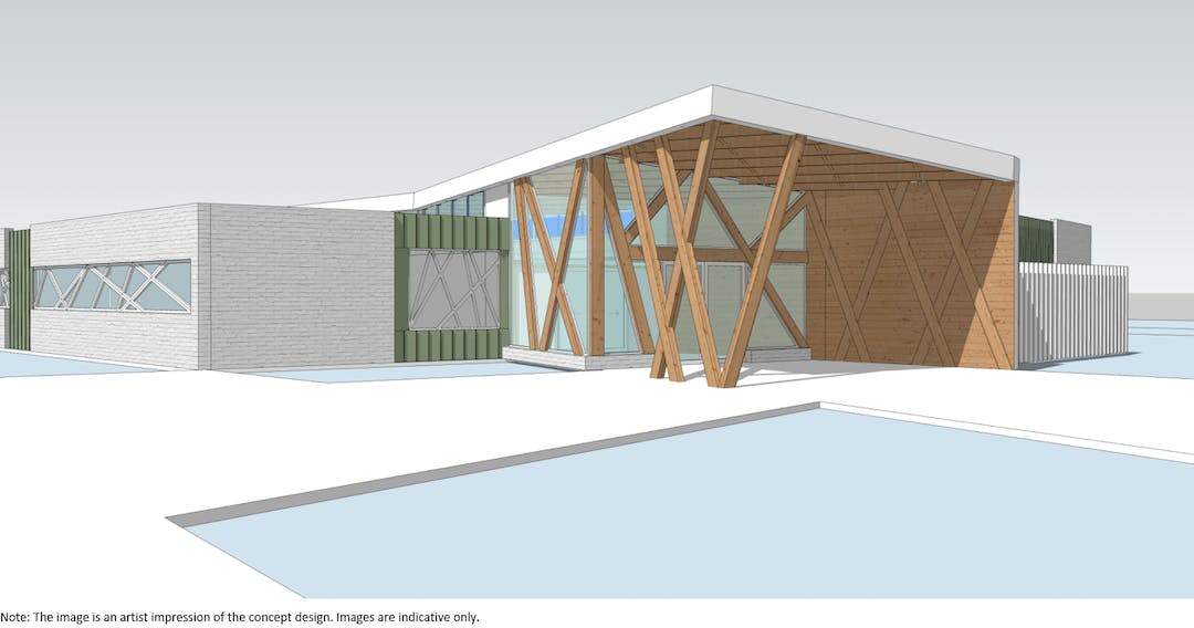 The image is an artist impression of the concept design. All images are indicative only.