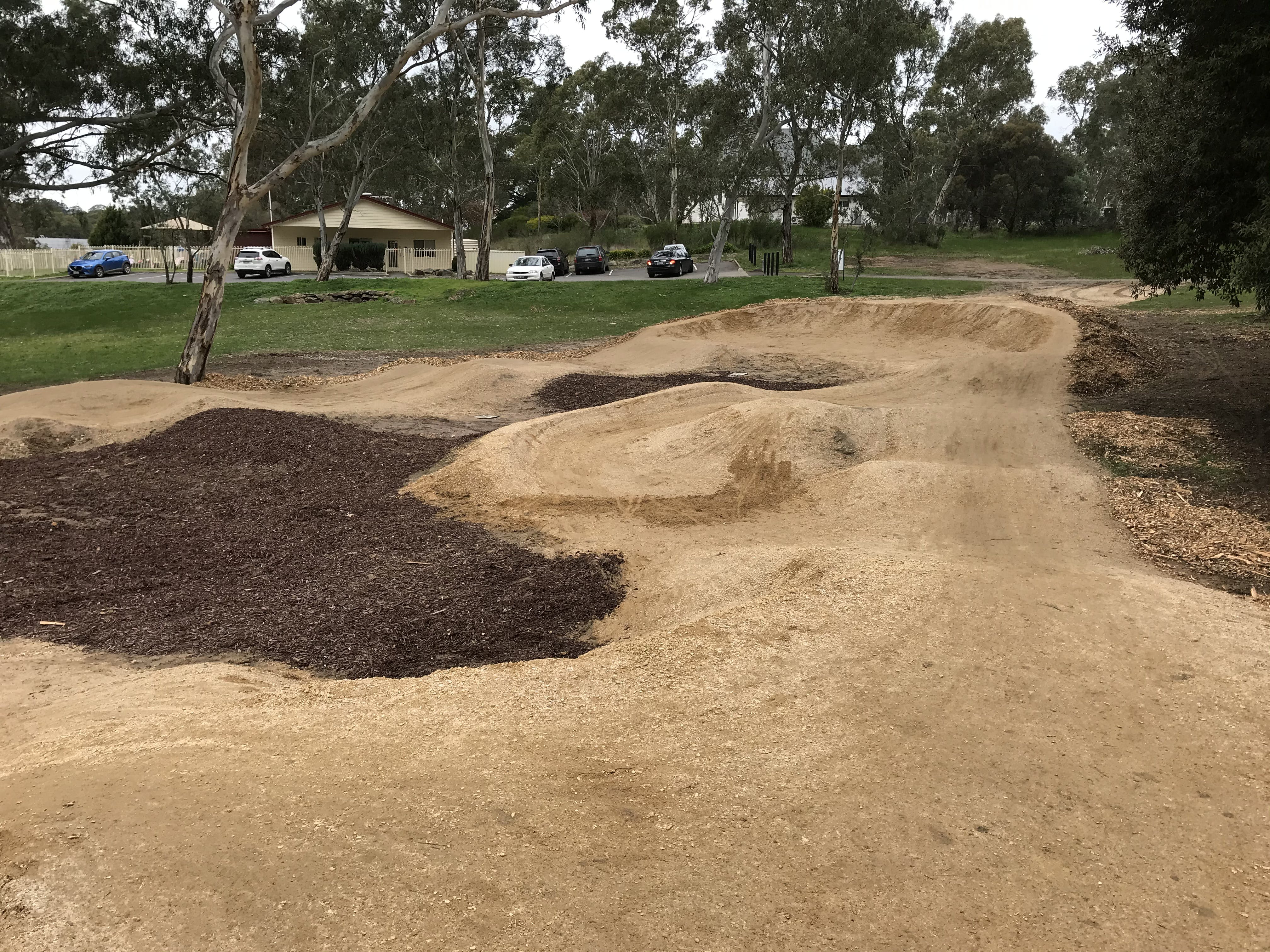 Birdwood Pump Track Completed 2.JPG