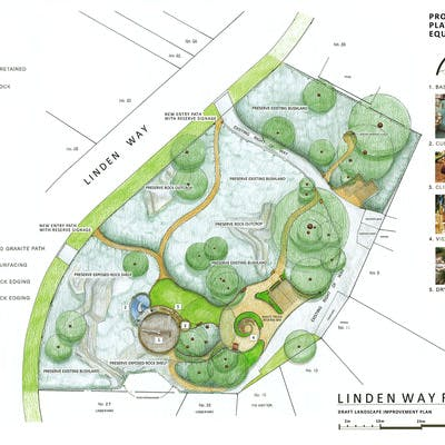 Draft Linden Way Landscape Improvement Plan