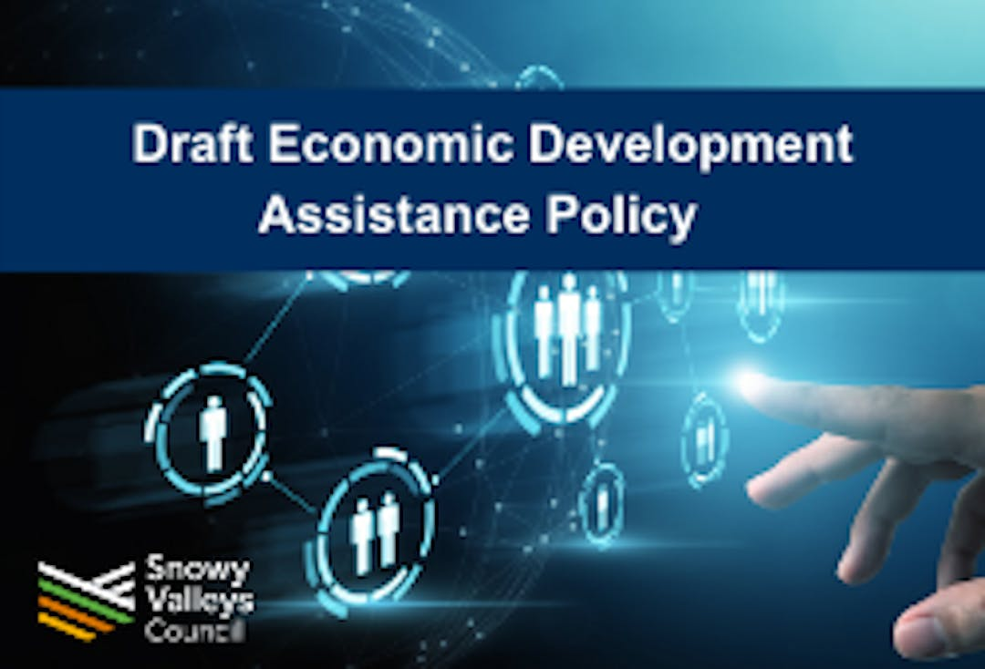Draft economic development assistance policy