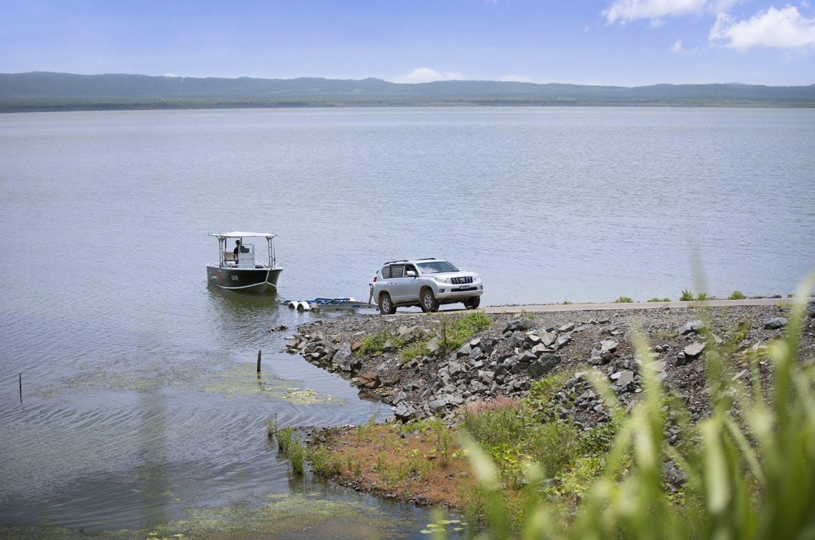 Lake Proserpine / Peter Faust Dam boatramp.jpg